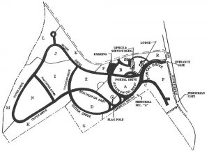 Baltimore National Cemetery map