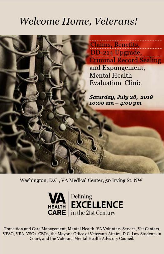 Veterans Benefits Clinic 2018 DC VAMC - National Association