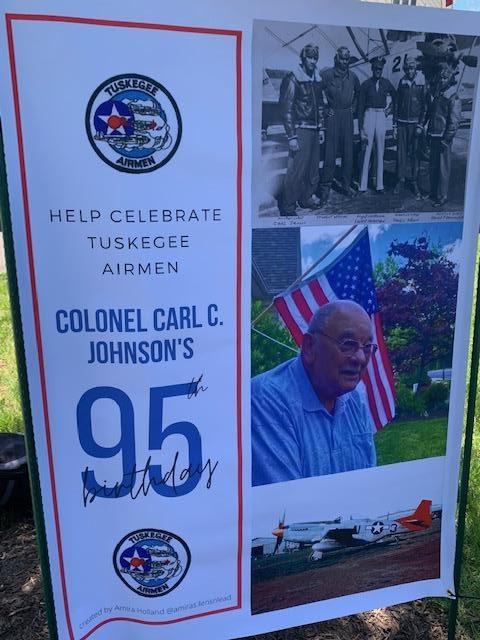 Colonel Carl C. Johnson's 95th Birthday